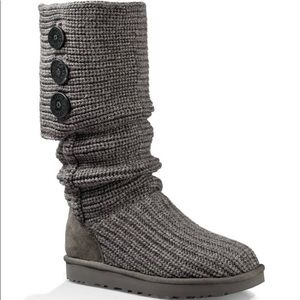 Ugg Classic Cardy Boot (Grey)